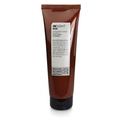 Очищающее средство для волос и тела INSIGHT MAN, 250 мл