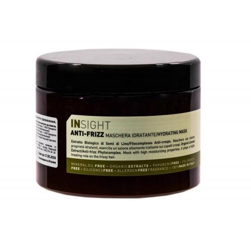 Дисциплинирующая маска для волос INSIGHT ANTI-FRIZZ, 500 мл